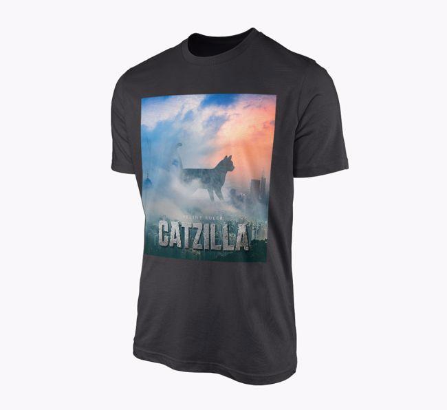 'Catzilla' - Personalised {breedFullName} T-Shirt
