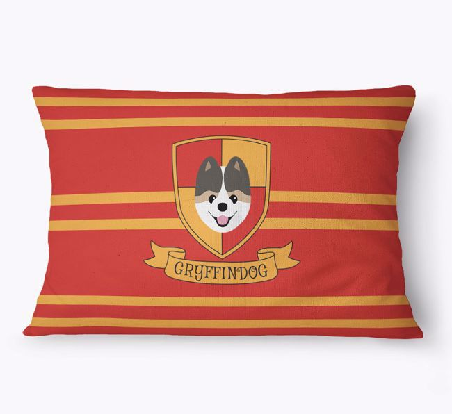 'Dogwarts' - Personalised {breedFullName} Dog Bed