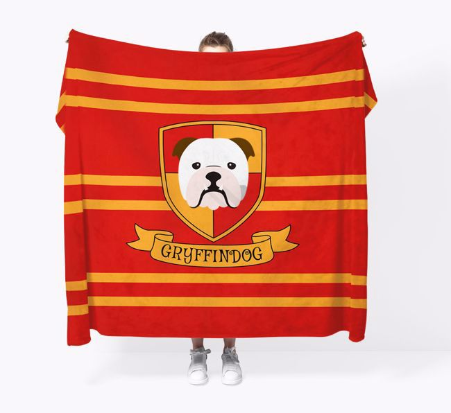 'Dogwarts' - Personalised {breedFullName} Blanket