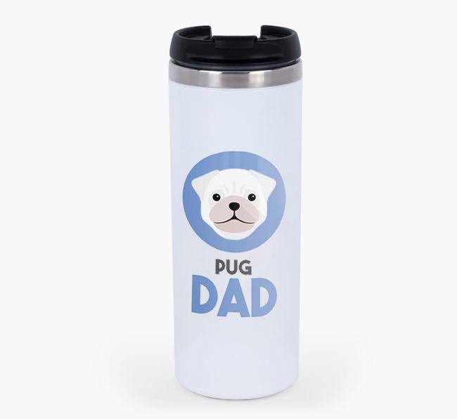 'Dog Dad' - Personalised {breedFullName} Travel Mug