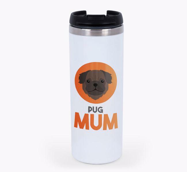 'Dog Mum' - Personalised {breedFullName} Travel Mug