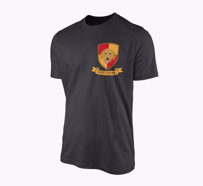 'Gryffindog' - Personalised T-shirt featuring your {breedFullName}