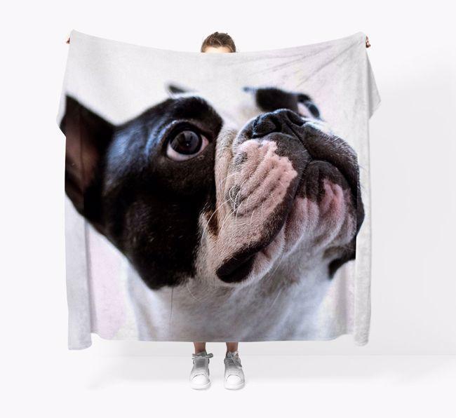 Photo Upload {breedFullName} Throw Blanket