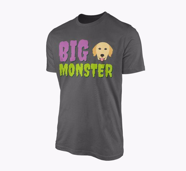 'Big Monster' - Personalised {breedFullName} Adult T-Shirt